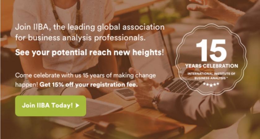 http://www.iiba.org/Membership/become-a-member.aspx?gclid=EAIaIQobChMIjdqW6aGx3gIVAYzICh0oVAt4EAAYASAAEgKpjfD_BwE